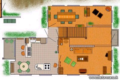 Set die serie for House plan set